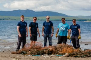Ghost Fishing UK team from the Madame Alice mission